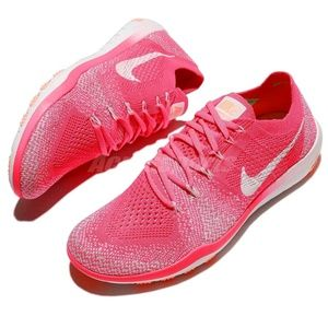NWT Nike Free Focus Flyknit 2 Racer Pink Trainer